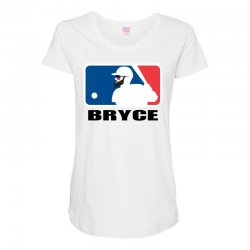 bryce harper Maternity Scoop Neck T-shirt | Artistshot