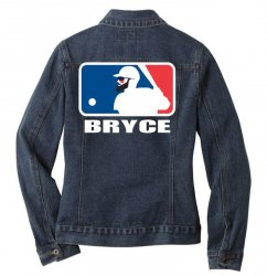 bryce Ladies Denim Jacket | Artistshot