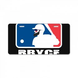 bryce License Plate | Artistshot