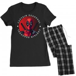captain deadpool Women's Pajamas Set | Artistshot