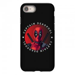 captain deadpool iPhone 8 Case | Artistshot