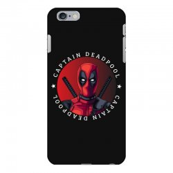 captain deadpool iPhone 6 Plus/6s Plus Case | Artistshot