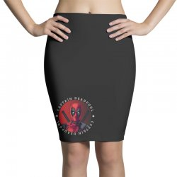 captain deadpool Pencil Skirts | Artistshot