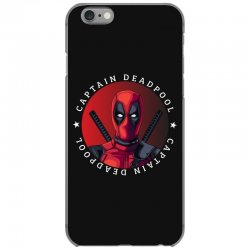 captain deadpool iPhone 6/6s Case | Artistshot