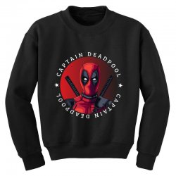 captain deadpool Youth Sweatshirt | Artistshot