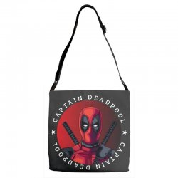 captain deadpool Adjustable Strap Totes | Artistshot