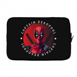 captain deadpool Laptop sleeve | Artistshot