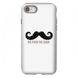 mustache iPhone 8 Case | Artistshot