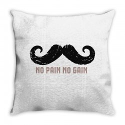 mustache Throw Pillow | Artistshot