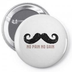 mustache Pin-back button | Artistshot