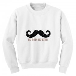 mustache Youth Sweatshirt | Artistshot