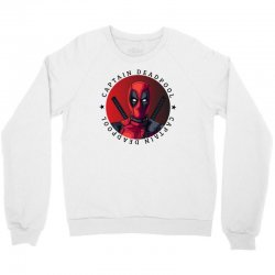 captain deadpool Crewneck Sweatshirt | Artistshot