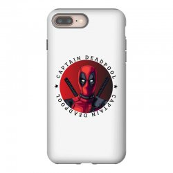 captain deadpool iPhone 8 Plus Case | Artistshot