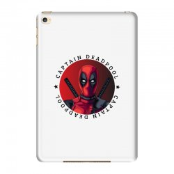 captain deadpool iPad Mini 4 Case | Artistshot