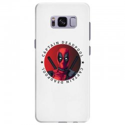 captain deadpool Samsung Galaxy S8 Plus Case | Artistshot