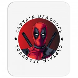 captain deadpool Mousepad | Artistshot