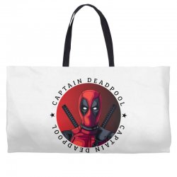 captain deadpool Weekender Totes | Artistshot