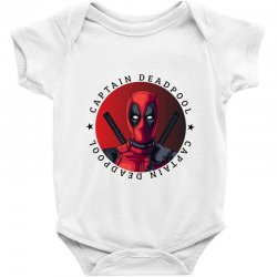 captain deadpool Baby Bodysuit | Artistshot