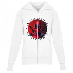 captain deadpool Youth Zipper Hoodie | Artistshot