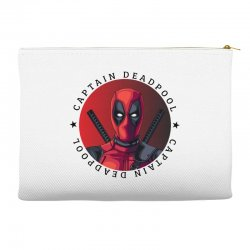 captain deadpool Accessory Pouches | Artistshot