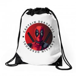 captain deadpool Drawstring Bags | Artistshot