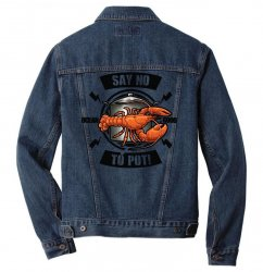 no pot Men Denim Jacket | Artistshot