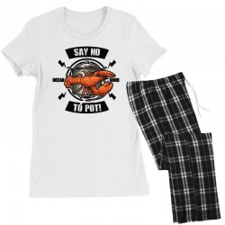 no pot Women's Pajamas Set | Artistshot