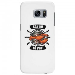 no pot Samsung Galaxy S7 Edge Case | Artistshot