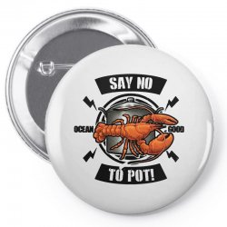 no pot Pin-back button | Artistshot