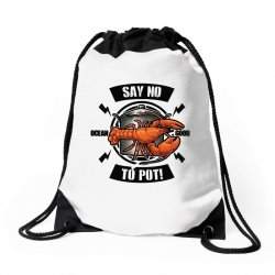 no pot Drawstring Bags | Artistshot