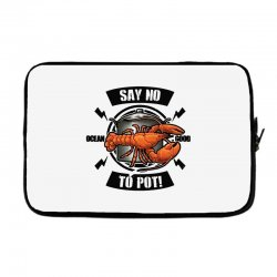no pot Laptop sleeve | Artistshot