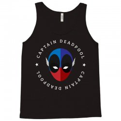 captain deadpool funny Tank Top | Artistshot