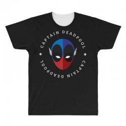 captain deadpool funny All Over Men's T-shirt | Artistshot