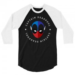 captain deadpool funny 3/4 Sleeve Shirt | Artistshot