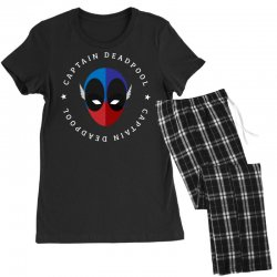 captain deadpool funny Women's Pajamas Set | Artistshot