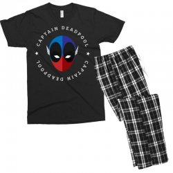 captain deadpool funny Men's T-shirt Pajama Set | Artistshot
