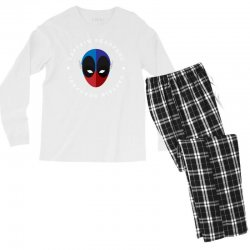 captain deadpool funny Men's Long Sleeve Pajama Set | Artistshot