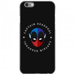 captain deadpool funny iPhone 6/6s Case | Artistshot