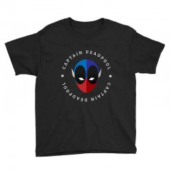 captain deadpool funny Youth Tee | Artistshot