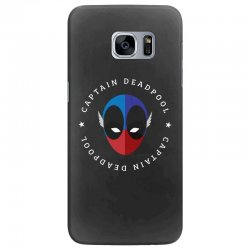 captain deadpool funny Samsung Galaxy S7 Edge Case | Artistshot
