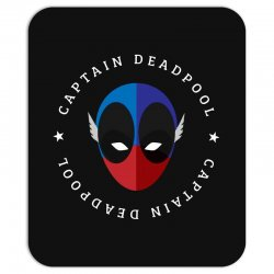 captain deadpool funny Mousepad | Artistshot