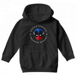 captain deadpool funny Youth Hoodie | Artistshot