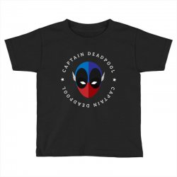 captain deadpool funny Toddler T-shirt | Artistshot