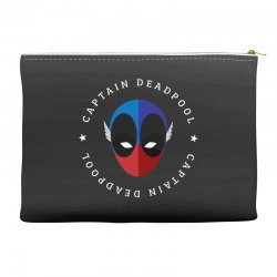 captain deadpool funny Accessory Pouches | Artistshot