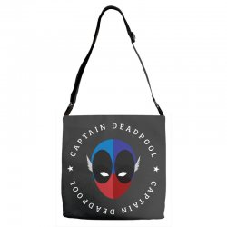 captain deadpool funny Adjustable Strap Totes | Artistshot