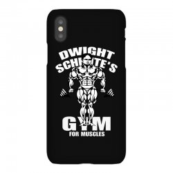 dwight schrute's gym for muscles iPhoneX Case   Artistshot