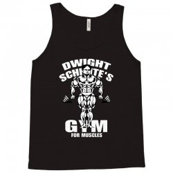 dwight schrute's gym for muscles Tank Top   Artistshot