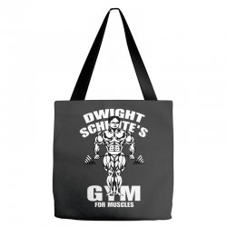 dwight schrute's gym for muscles Tote Bags   Artistshot