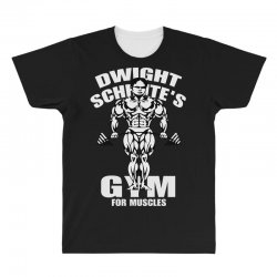 dwight schrute's gym for muscles All Over Men's T-shirt   Artistshot