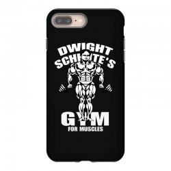 dwight schrute's gym for muscles iPhone 8 Plus Case   Artistshot